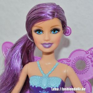 2011 Barbie in A Fairy Secret - purple fairy #T7353