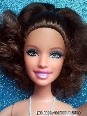 2012 Ballerina Princess Barbie, brunette W2922