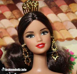 2012 Dolls of the World - Spain Barbie X8421