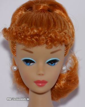 2012 Let's Play Barbie Repro - Redhead Titian W3505