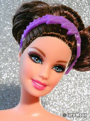 2013 Barbie in The Pink Shoes -    Ballerina, purple X8823