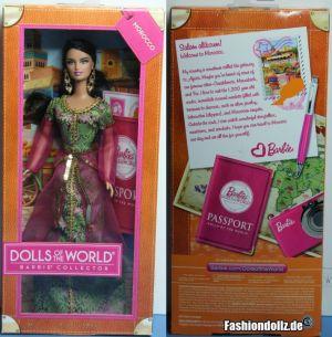 2013 Dolls of the World - Morocco Barbie  #X8425