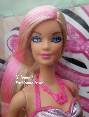 2013 Hairtastic / Glam Hair Wave 1 Barbie - rose X7883