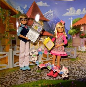 2013 Barbie & Her Sisters in A Pony Tale -       Max & Marie Set #Y7558