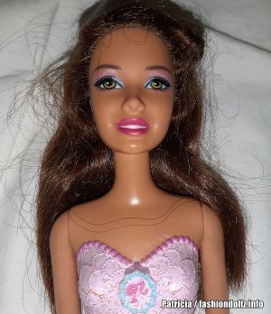 2014 Bath Play Fun Mermaid / Meerjungfrau, brunette X9454