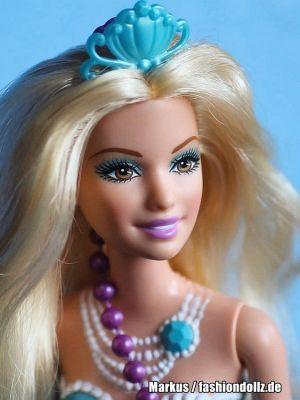 2014 Barbie in The Pearl Princess -    Mermaid, blue BGV22