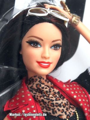 2014 Barbie Style Glam Luxe Raquelle  CBJ36