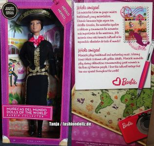 2014 Dolls of the World - Mexico, Mariachi Barbie #BCP74