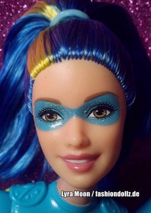 2015 Barbie in Princess Power -   Water Super Hero Makayla DHM64