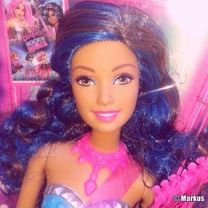 2015 Barbie in Rock N' Royals -      Erika CKB67