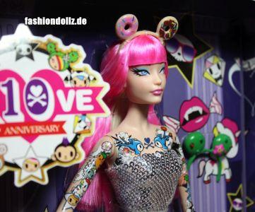 2015 tokidoki Barbie pink, BlackLabel (04)
