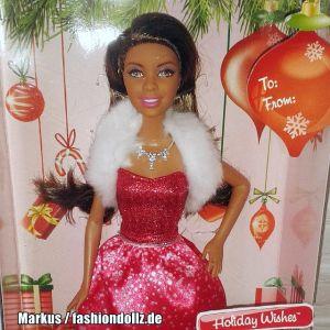 2015 Holiday Wishes Barbie AA CDB53