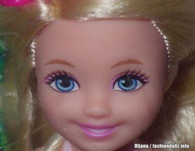 2016 Barbie Endless Hair Kingdom Chelsea, blonde DKB54