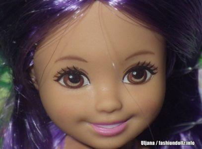 2016 Barbie Endless Hair Kingdom Chelsea, purple DKB58