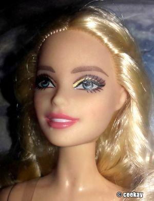 2016 Holiday Barbie, blonde DGX98
