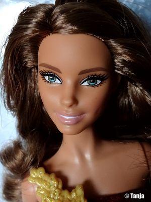 2016 Holiday Barbie, brunette DRD25