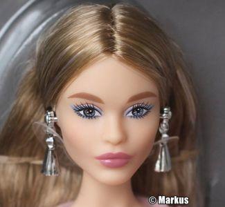 2017 Blush Fringed Gown Barbie DWF52