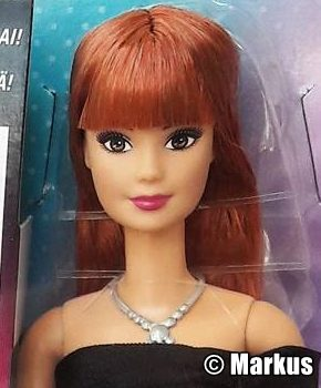 2017 Day to Night Style Barbie, Redhead DNR04