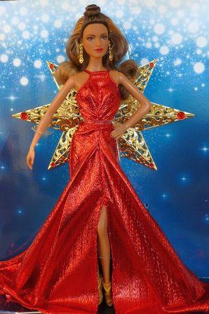 2017 Holiday Barbie Brunette (3)
