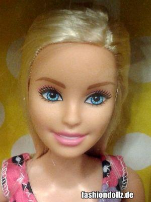 2017 Standard Fashion Barbie, Floral Dress, blonde DVX89