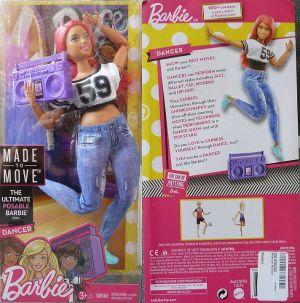 2018 Made to Move - Dancer Barbie FJB19