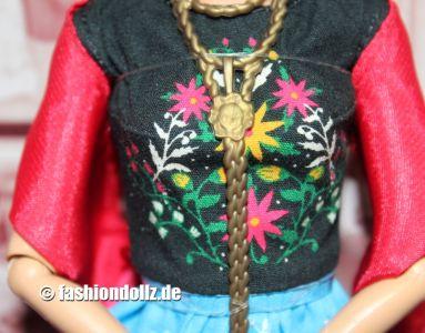 2018 Inspiring Women - Frida Kahlo Barbie #FJH65