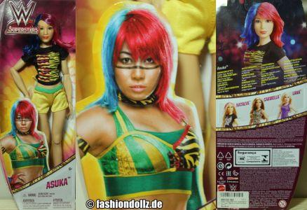 2018 WWE Superstars Asuka #FTD83