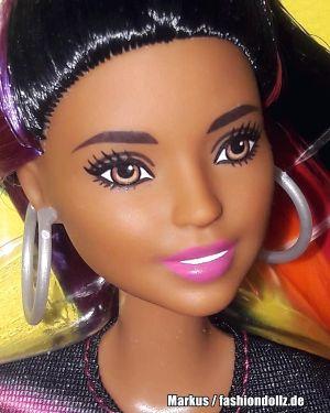 2019 Rainbow Sparkle Hair Barbie AA FXN97