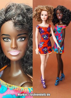 2019 Standard Fashion Barbie AA, Floral Dress GDY32