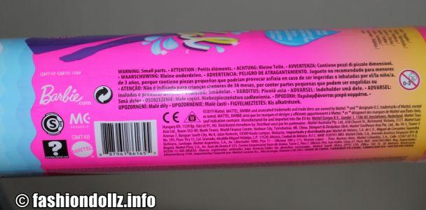 2020 Color Reveal Barbie package