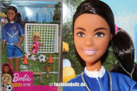 2020 Barbie Careers - Soccer Coach & Student AA