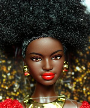 2020  First Black Barbie 40th Anniversary #GLG35