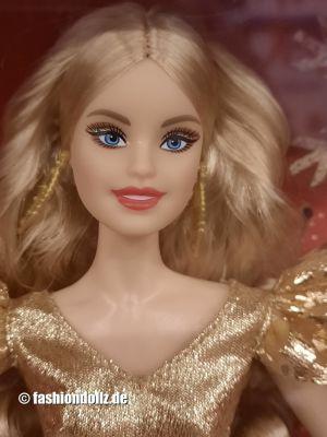 2020 Holiday Barbie, blonde #GNR92