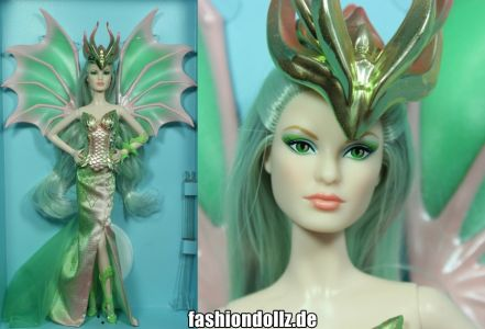 Dragon Empress Barbie #GHT44 mit Louboutin Face