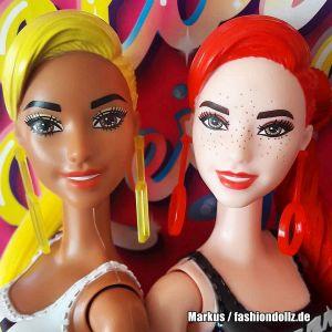 2021 Barbie Color Reveal Wave 6 - Mono Mix, Doll #3 & #1, GTR94