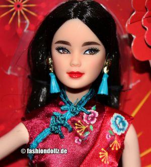 2021 Barbie Lunar New Year #GTJ92