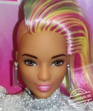 2021 Leopard Rainbow Hair Barbie HCV99