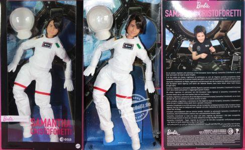 2021 Samantha Christoforetti Barbie #GTJ81 (1)