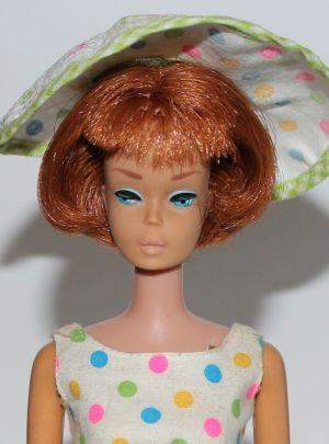1965 American Girl, red hair