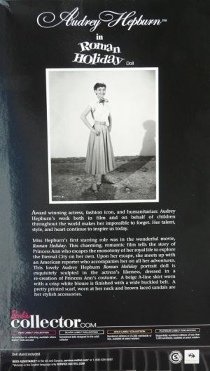 Audrey Hepburn - Roman Holiday Bild #03