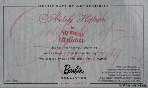 Audrey Hepburn - Roman Holiday Bild #04