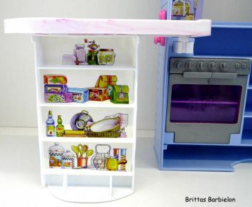 Barbie Bake Shop And Café #67316 (Mattel, 1999) #14
