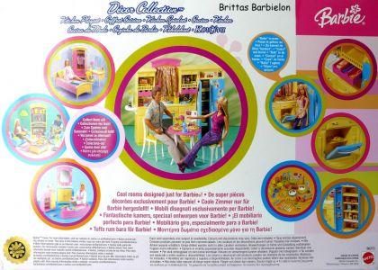 Barbie Decor Collection Kitchen Playset Mattel 2003 B6273 Bild #02