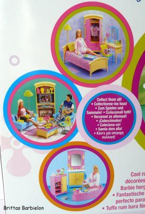 Barbie Decor Collection Kitchen Playset Mattel 2003 B6273 Bild #03