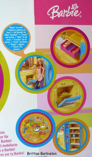 Barbie Decor Collection Kitchen Playset Mattel 2003 B6273 Bild #04
