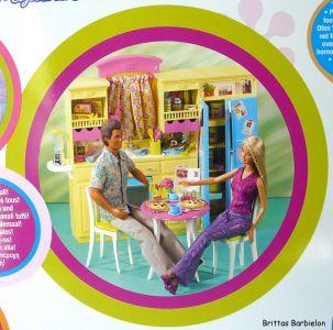 Barbie Decor Collection Kitchen Playset Mattel 2003 B6273 Bild #05