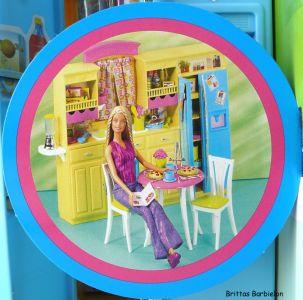Barbie Decor Collection Kitchen Playset Mattel 2003 B6273 Bild #07