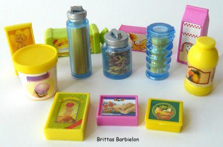 Barbie Decor Collection Kitchen Playset Mattel 2003 B6273 Bild #22