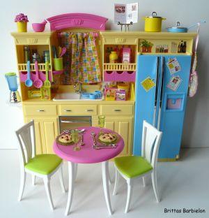Barbie Decor Collection Kitchen Playset Mattel 2003 B6273 Bild #25