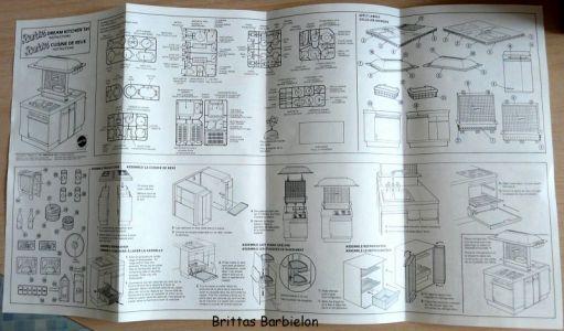 Barbie Dream Kitchen Mattel Bild #05